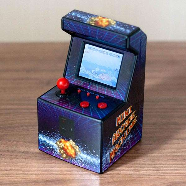 The Mini Arcade Machine with 240 Retro Games