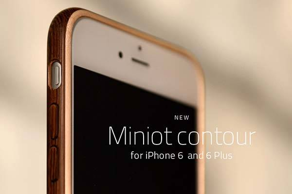 Miniot Contour iPhone 6 and iPhone 6 Plus Cases
