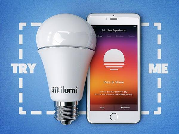New Ilumi Smart Bulb for Personalized Illumination