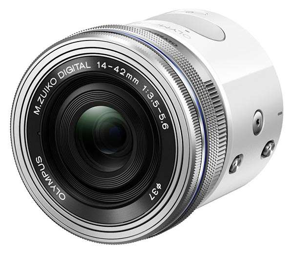 Olympus AIR A01 Lens-Style Camera Turns Smartphone into Mirrorless Camera