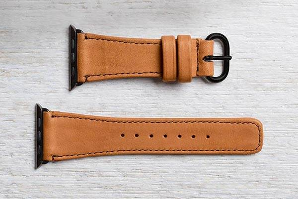 Pad&Quill Classic Apple Watch Leather Band