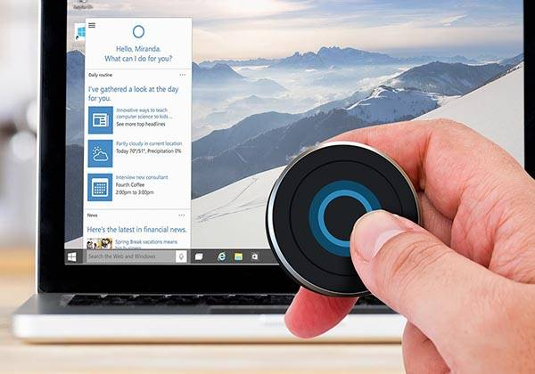 Satechi BT Cortana Button Lets You Easily Access Windows 10 Virtual Assistant