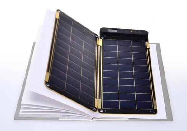 Solar Paper Portable Modular Solar Charger