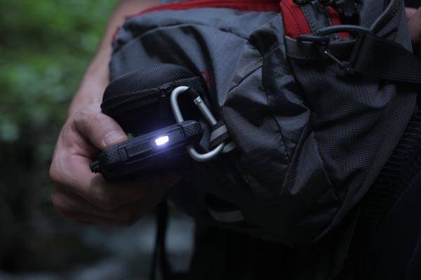 SOS PowerBank Waterproof Solar Power Bank With SOS Signaling