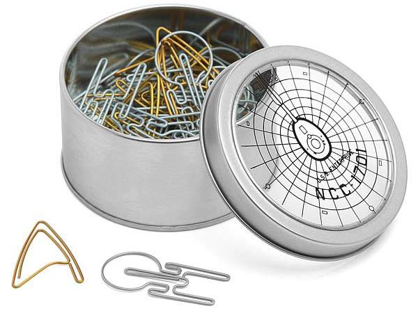 Star Trek Paper Clips