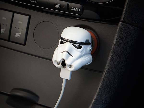 Darth Vader & Stormtrooper USB Car Chargers