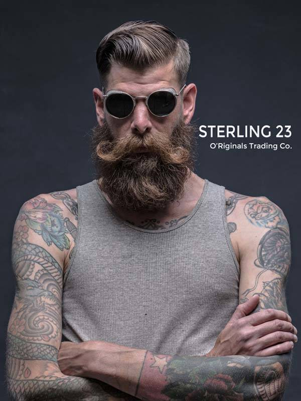 Sterling 23 Sunglasses With Side-Shields