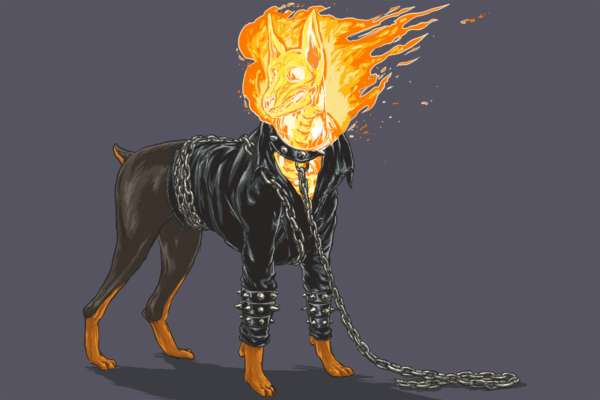 Marvel Superheroes' Dogs