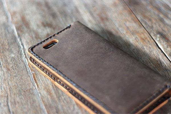 The Handmade Wallet Leather Case for iPhone 6/6 Plus