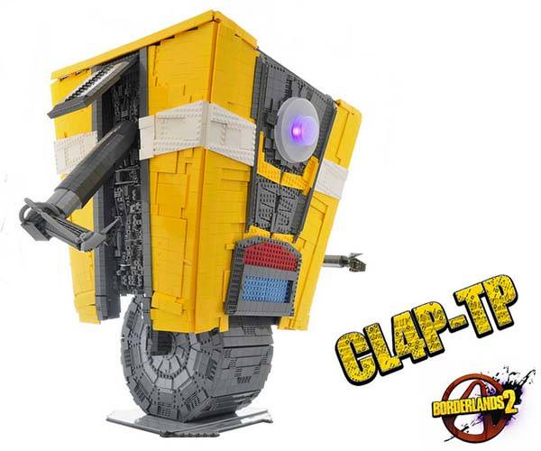 The Life-Size LEGO Claptrap