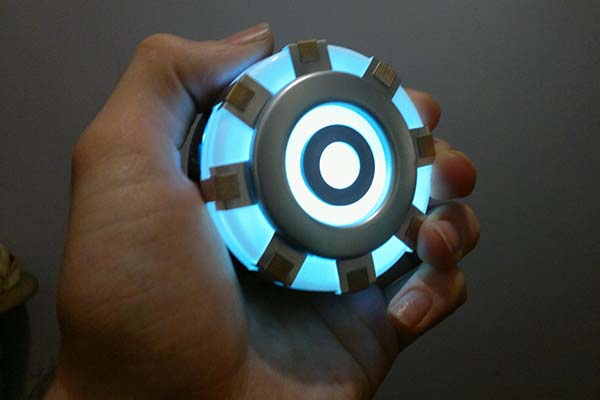 The Wearable Arc Reactor Replica Lets You Become Iron Man