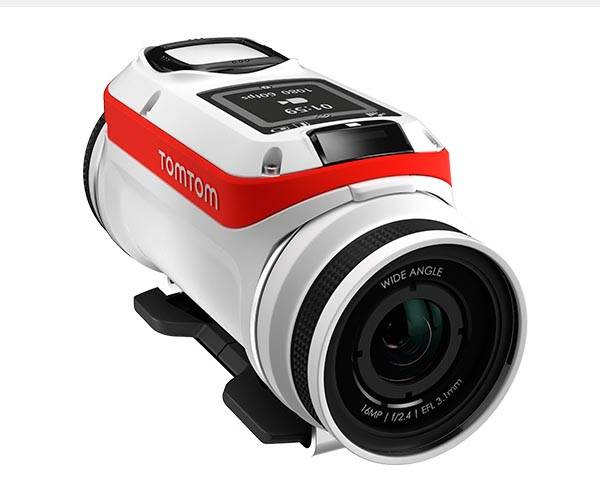 TomTom Bandit Action Camera with Built-in Sensors