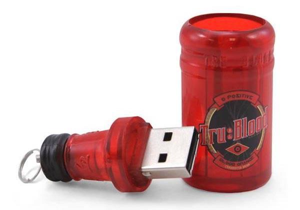 True Blood Bottle USB Flash Drive