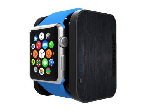 wiTraveler Apple Watch Charging Stand with Built-in Power Bank