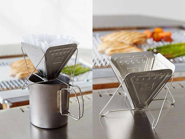Snow Peak Collapsible Pour-over Coffee Maker