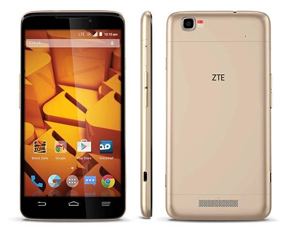 ZTE Boost MAX+ 5.7 Android Phone