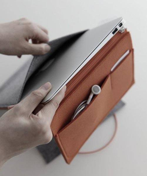 11+ Felt Case for Your MacBook Air, iPad and Other Essentials