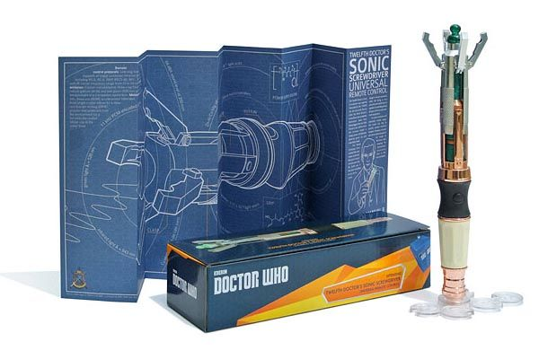 The Doctor Who's Sonic Screwdriver Programmable TV Remote