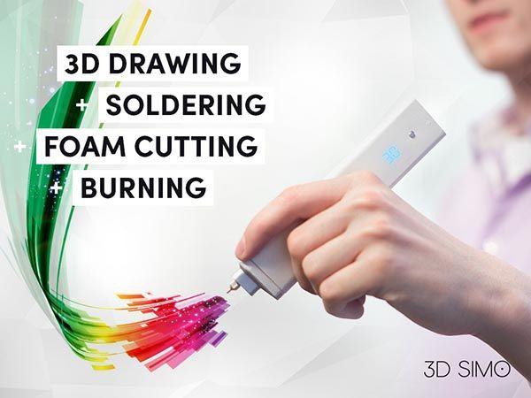 3DSimo Mini 3D Printing Pen