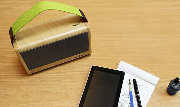 Celia & Perah P3 Wooden Portable Bluetooth Speaker