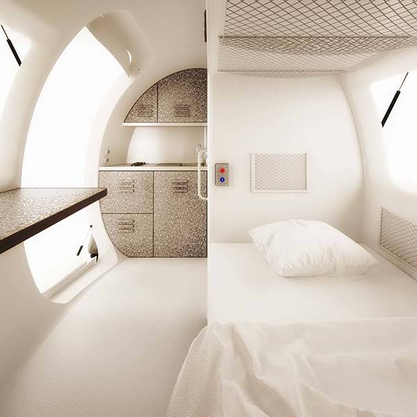 Ecocapsule Mobile Home