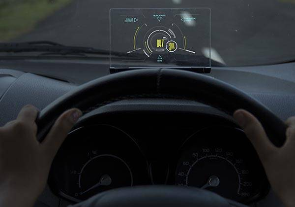 Exploride Heads-up Display Turns Your Car into Smart Car