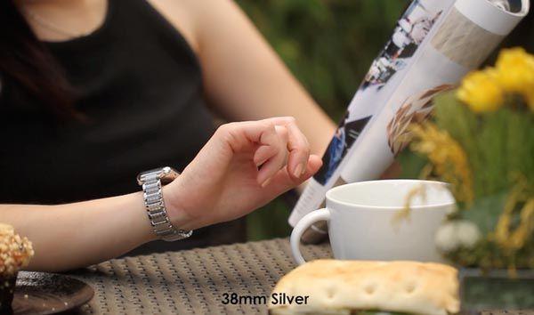 HyperLink Stainless Steel Apple Watch Link Bracelet Band