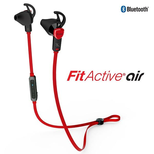 iLuv FitActive Air Bluetooth Sports Earbuds