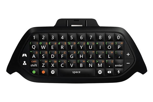 Microsoft Xbox Chatpad is a mini keyboard for Xbox One