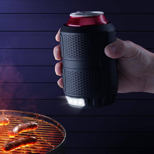 Nite Ops Can Cooler with Integrated LED Flashlight