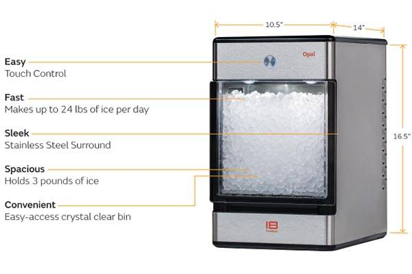 Opal Affordable Home Nugget Ice Maker