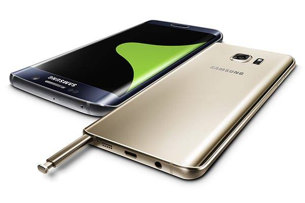 Samsung Galaxy Note5 and S6 Edge+ Flagship Smartphones