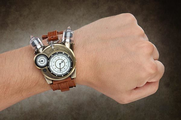 The Steampunk Tesla Watch Makes You Look Like A Time