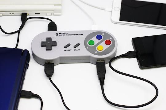 SNES Controller Power Bank