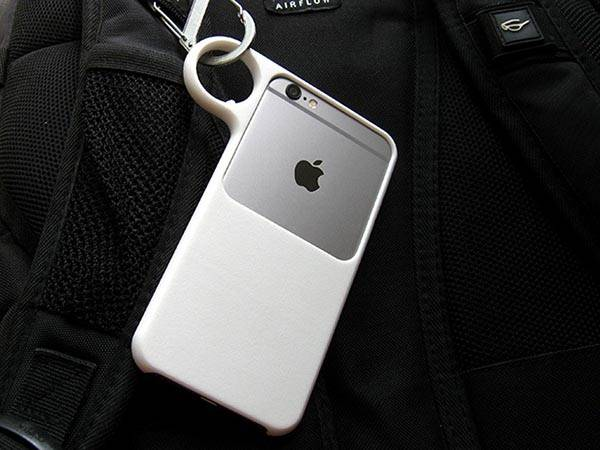 3D Printed iPhone 6 Case with Ring Holder - One of our hand-picked Apple gadgets