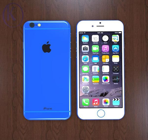 The Concept iPhone 6c with Colorful Housing and Virtual Home Button