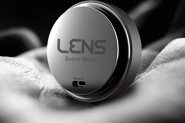 The Concept Lens Action Camera for Beme Social Video App