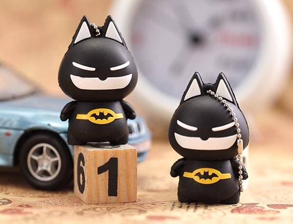 Cute Batman USB Flash Drive - one of our hand-picked USB gadgets