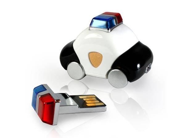 Ambulance, Police Car and Taxi USB Flash Drives