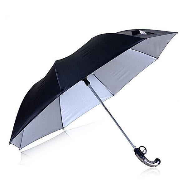 Vintage Western Gun Inspired Folding Umbrella