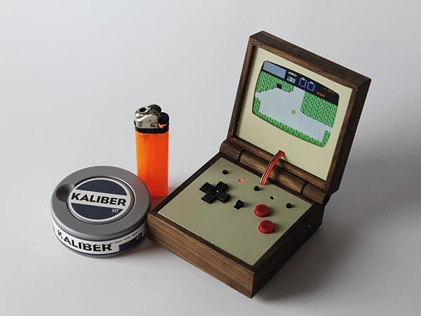 Handmade Raspberry Pi Powered Handheld Game Console