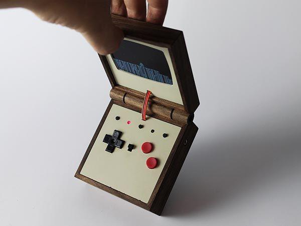 Handmade Raspberry Pi Powered Handheld Game Console