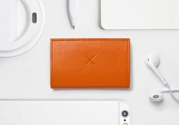 Stylish Slim 2 Minimal Leather Wallet