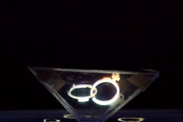 How to Turn Smartphone into Hologram Projector