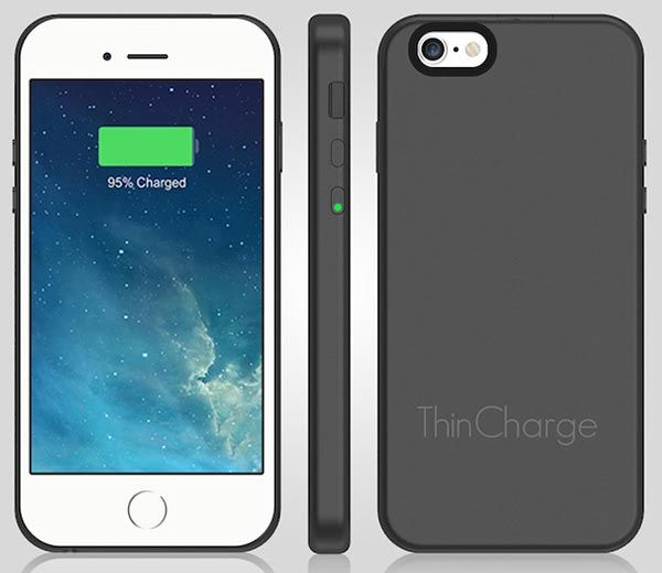 ThinCharge Ultra Slim and Lightweight iPhone 6 Battery Case