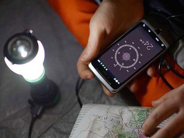 UCO Trinity LED Lantern with Flashlight and Power Bank