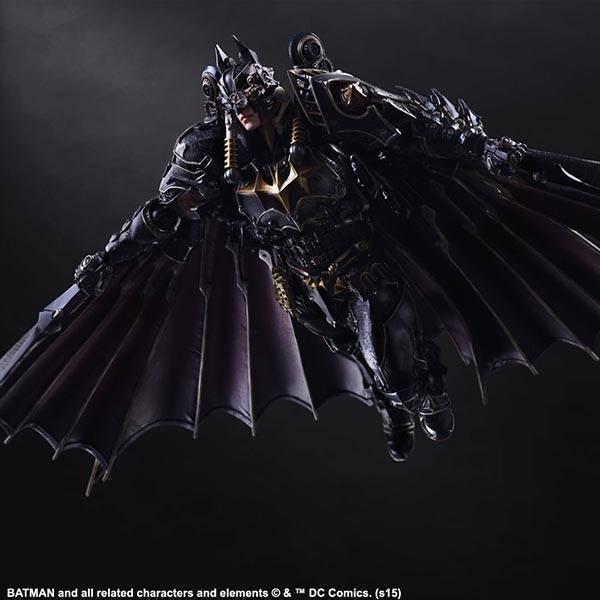 Variant Play Art Kai Batman Action Figure Shows off Steampunk Batsuit