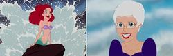 The Illustrations Show What the Charming Disney Princesses Look Like In Old Age