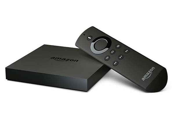 All-New Amazon Fire TV with 4K Video Playback