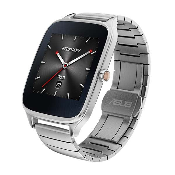 ASUS ZenWatch 2 Smartwatch Boasts Crown Button, Changeable ...